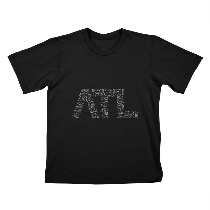 ATL Kids T-Shirt by ATLBrandBox's Artist Shop