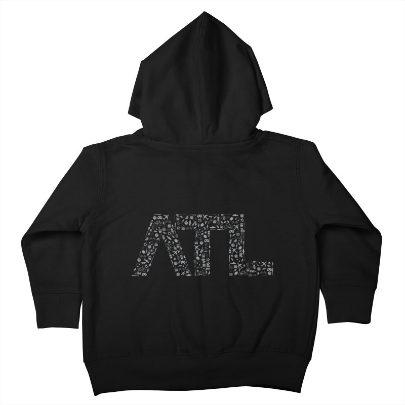 ATL Kids Toddler Zip-Up Hoody by ATLBrandBox's Artist Shop