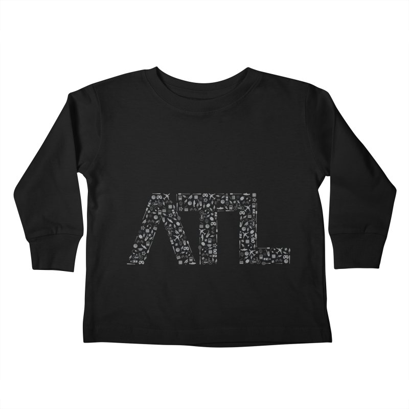 ATL Kids Toddler Longsleeve T-Shirt by ATLBrandBox's Artist Shop