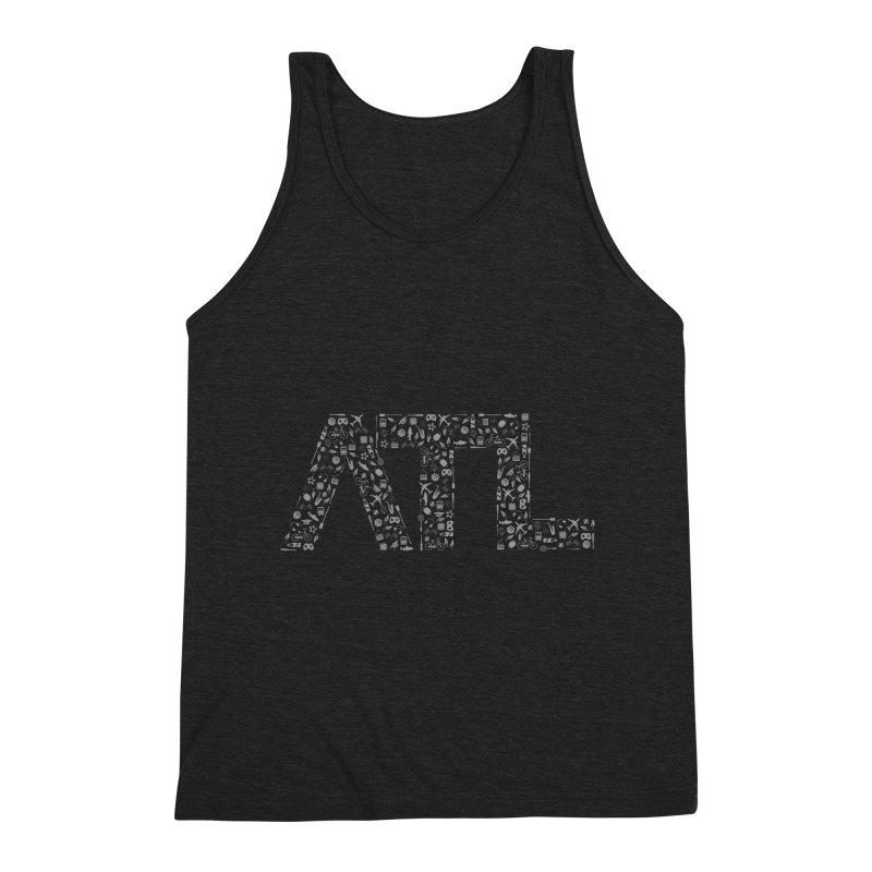 ATL Men's Triblend Tank by ATLBrandBox's Artist Shop