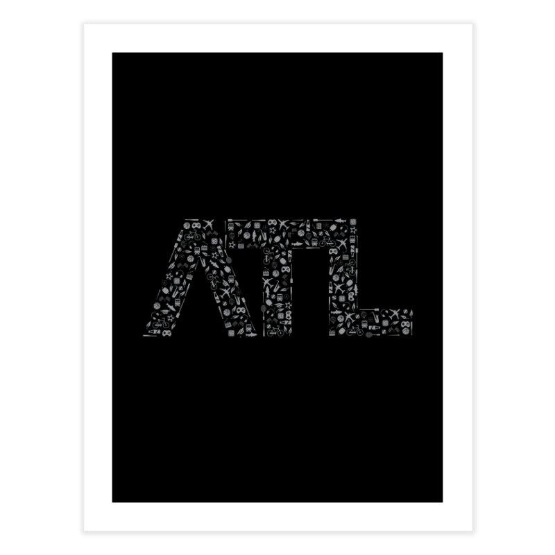 ATL Home Fine Art Print by ATLBrandBox's Artist Shop