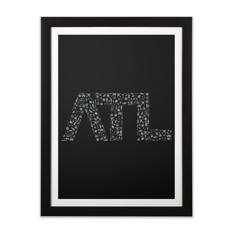 ATL Home Framed Fine Art Print by ATLBrandBox's Artist Shop