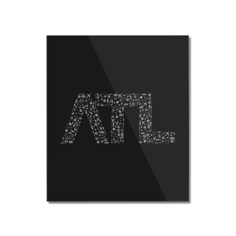 ATL Home Mounted Acrylic Print by ATLBrandBox's Artist Shop