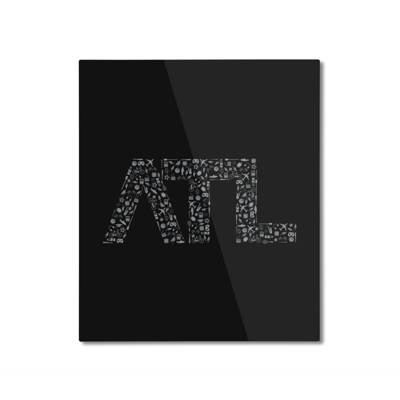 ATL Home Mounted Aluminum Print by ATLBrandBox's Artist Shop