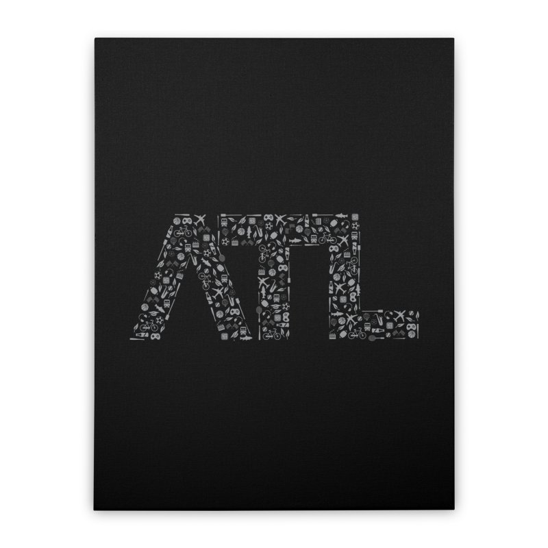 ATL Home Stretched Canvas by ATLBrandBox's Artist Shop