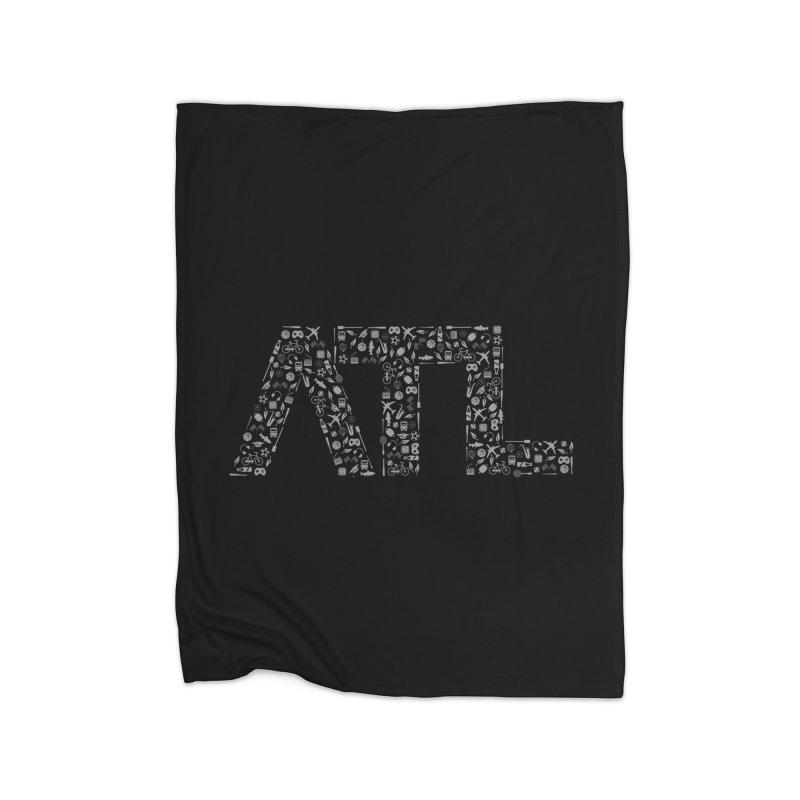 ATL Home Blanket by ATLBrandBox's Artist Shop