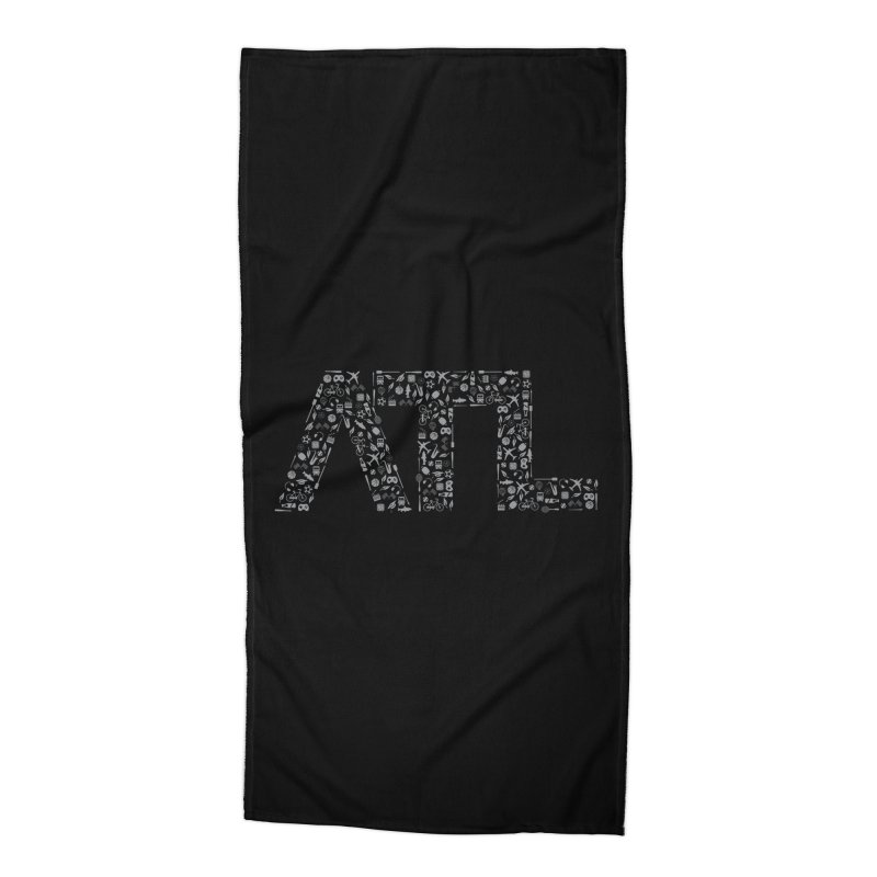 ATL Accessories Beach Towel by ATLBrandBox's Artist Shop