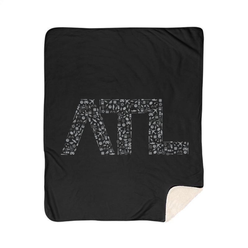 ATL Home Sherpa Blanket Blanket by ATLBrandBox's Artist Shop