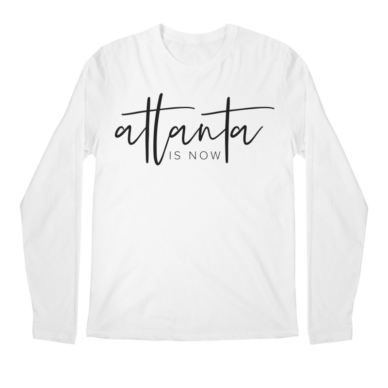 Atlanta Is Now Men's Regular Longsleeve T-Shirt by ATLBrandBox's Artist Shop