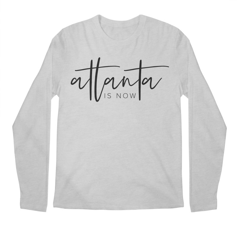 Atlanta Is Now Men's Regular Longsleeve T-Shirt by ATLBrandBox's Artist Shop