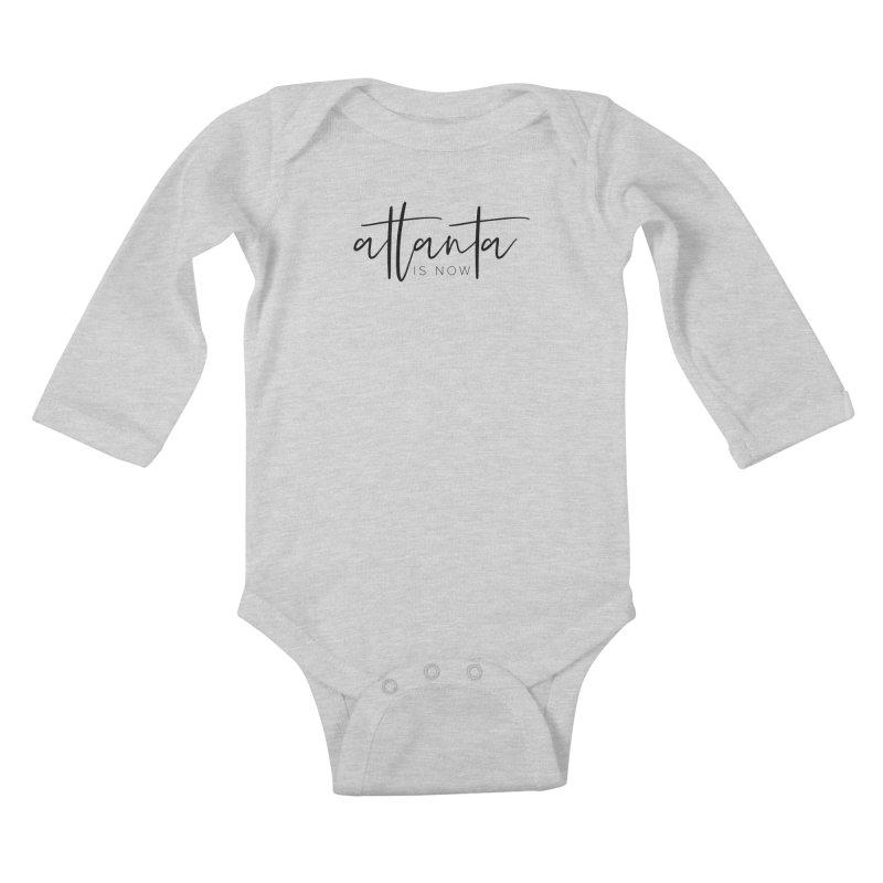 Atlanta Is Now Kids Baby Longsleeve Bodysuit by ATLBrandBox's Artist Shop