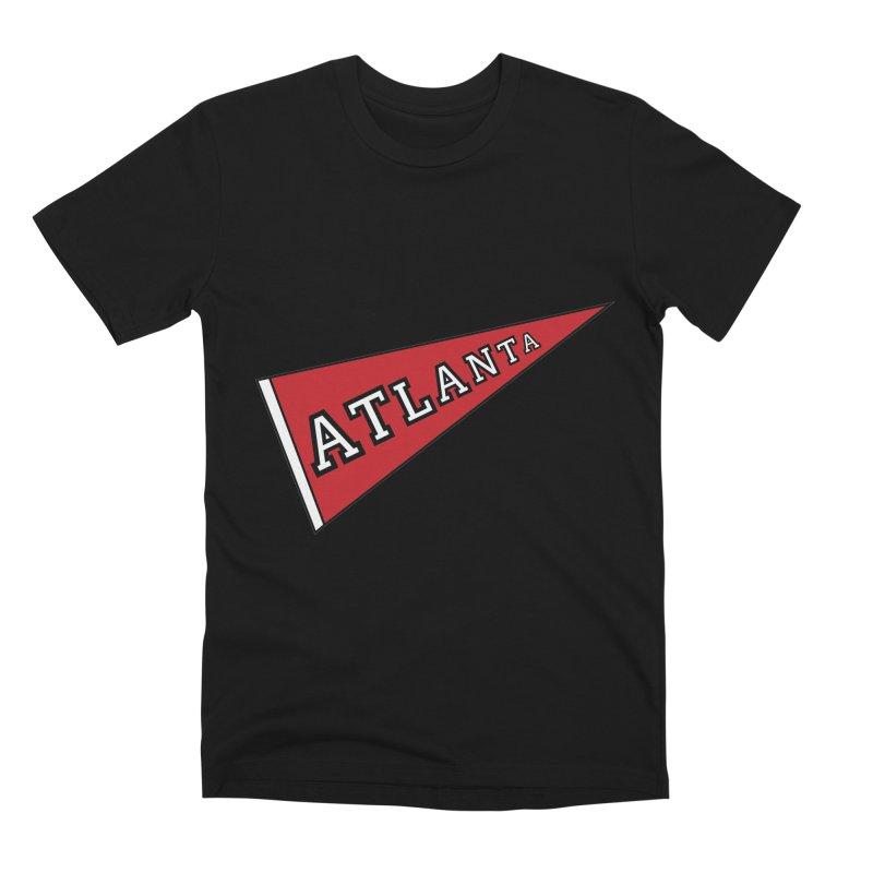 Atlanta Pennant Men's Premium T-Shirt by ATLBrandBox's Artist Shop