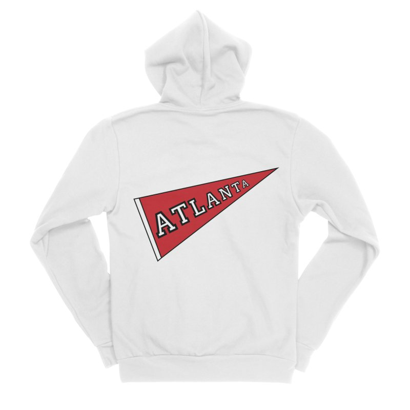 Atlanta Pennant Men's Zip-Up Hoody by ATLBrandBox's Artist Shop