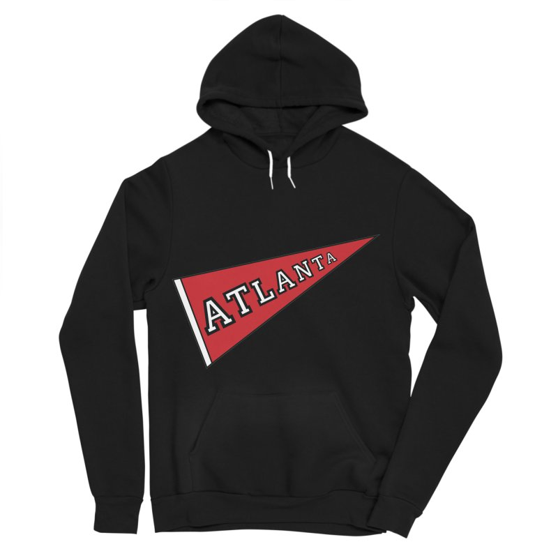 Atlanta Pennant Women's Sponge Fleece Pullover Hoody by ATLBrandBox's Artist Shop