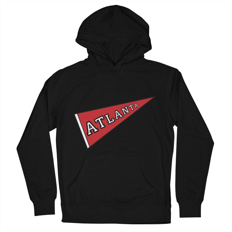 Atlanta Pennant Women's French Terry Pullover Hoody by ATLBrandBox's Artist Shop
