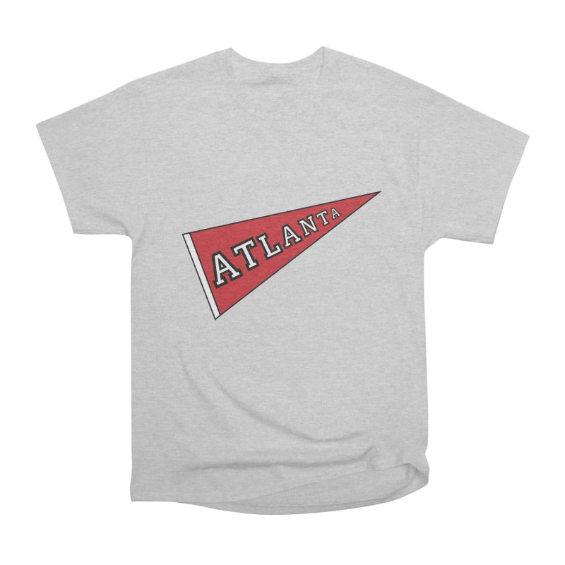Atlanta Pennant Women's Heavyweight Unisex T-Shirt by ATLBrandBox's Artist Shop