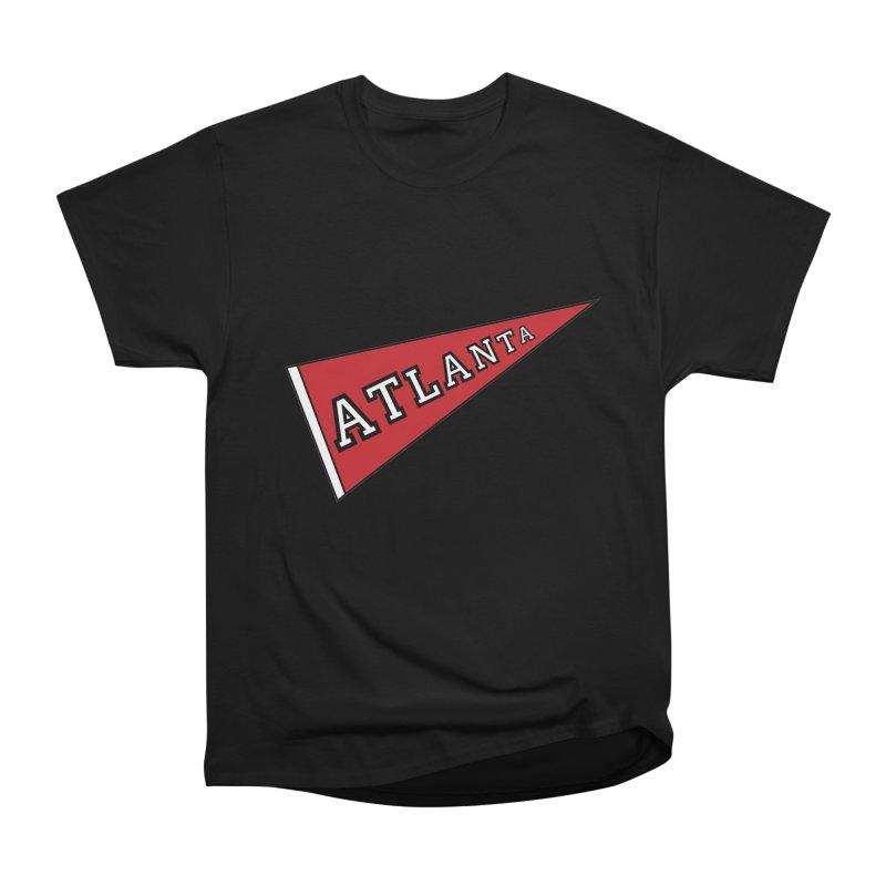 Atlanta Pennant Men's Heavyweight T-Shirt by ATLBrandBox's Artist Shop