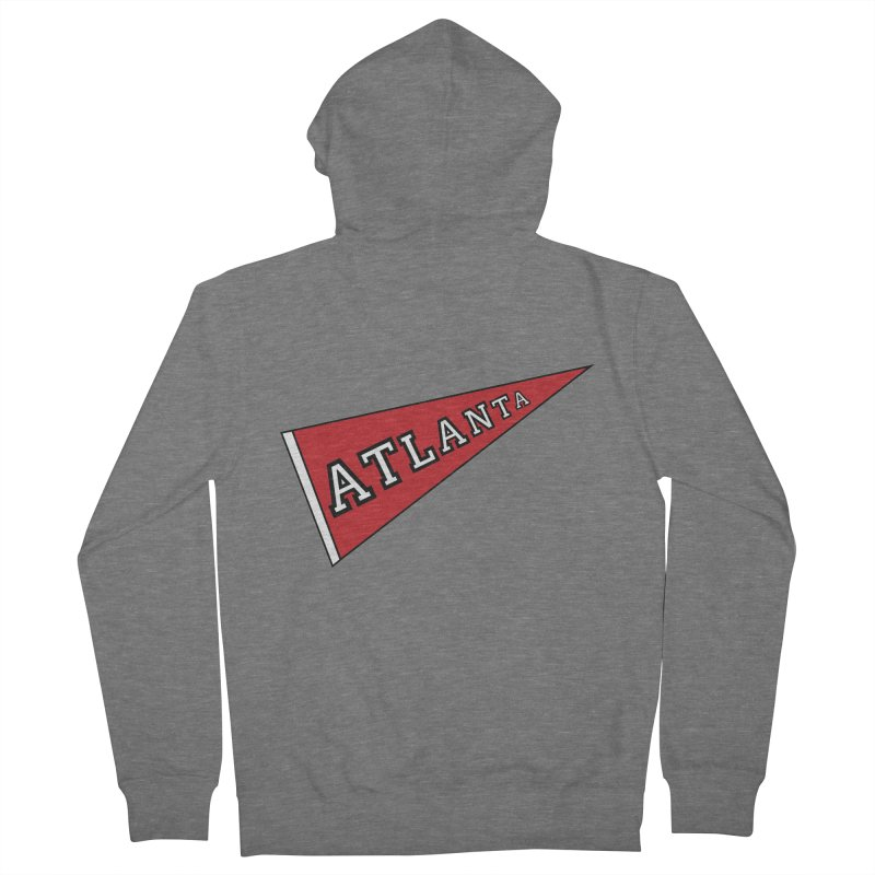 Atlanta Pennant Women's Zip-Up Hoody by ATLBrandBox's Artist Shop