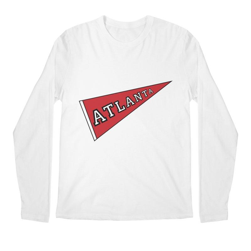 Atlanta Pennant Men's Regular Longsleeve T-Shirt by ATLBrandBox's Artist Shop