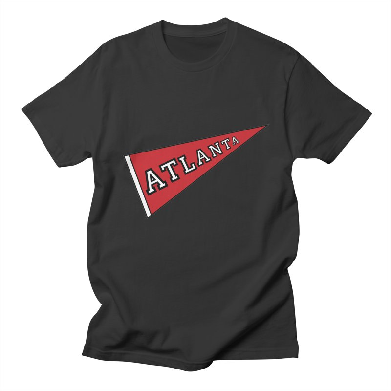 Atlanta Pennant Men's Regular T-Shirt by ATLBrandBox's Artist Shop