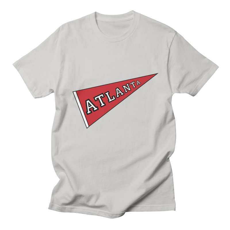 Atlanta Pennant Men's T-Shirt by ATLBrandBox's Artist Shop