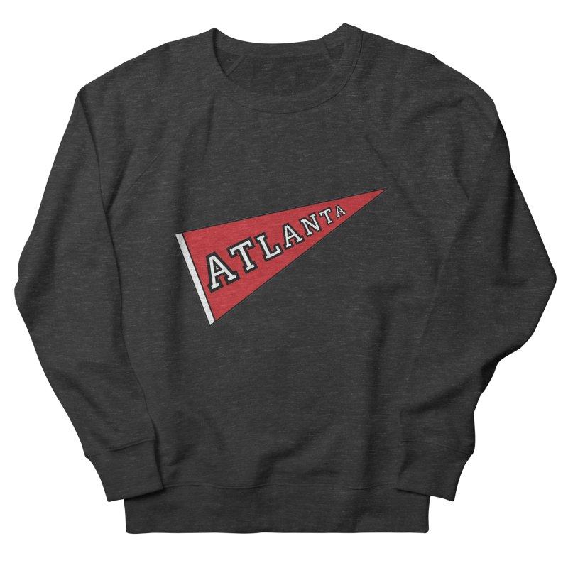 Atlanta Pennant Women's French Terry Sweatshirt by ATLBrandBox's Artist Shop