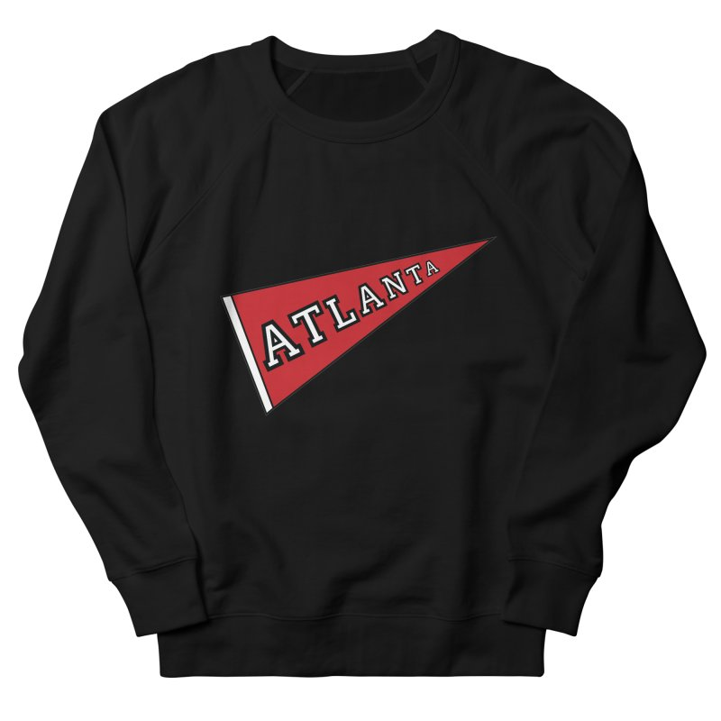 Atlanta Pennant Women's French Terry Sweatshirt by ATLBrandBox's Artist Shop