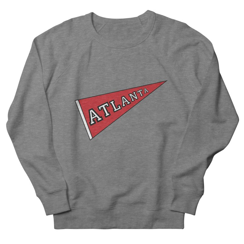 Atlanta Pennant Men's French Terry Sweatshirt by ATLBrandBox's Artist Shop