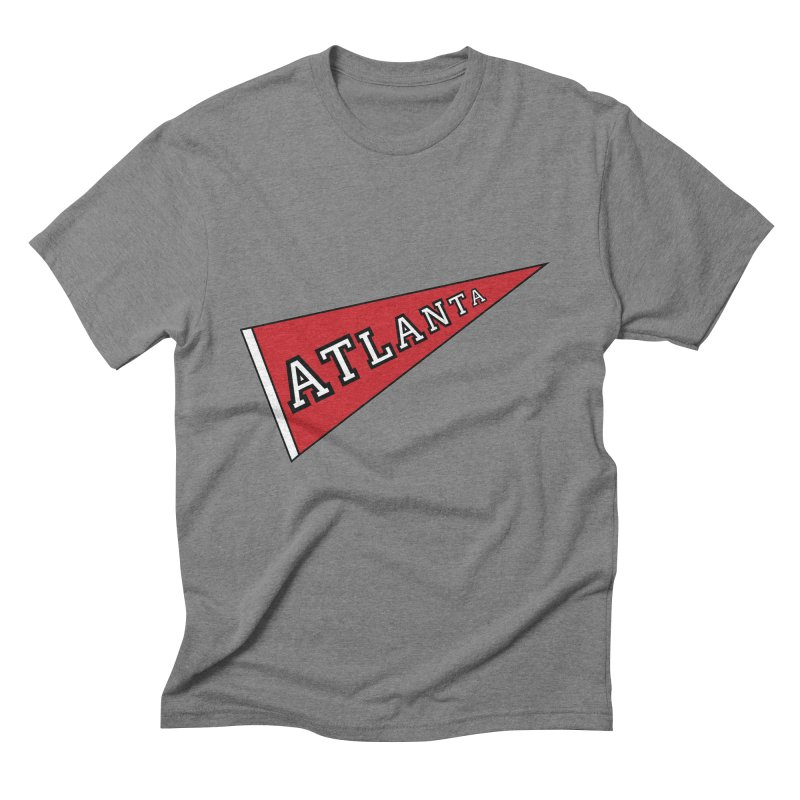 Atlanta Pennant Men's Triblend T-Shirt by ATLBrandBox's Artist Shop