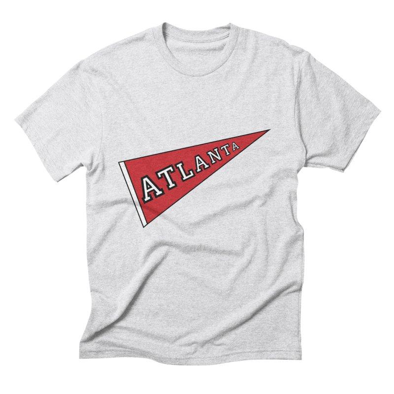 Atlanta Pennant Men's Triblend T-Shirt by ATLBrandBox's Artist Shop