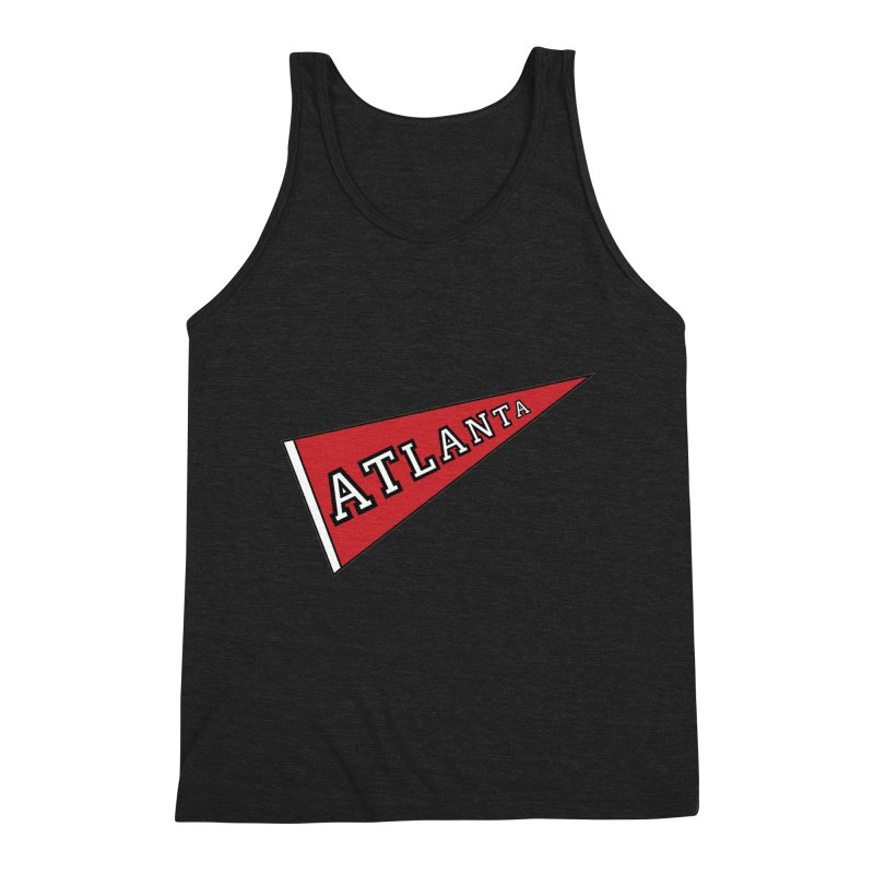 Atlanta Pennant Men's Tank by ATLBrandBox's Artist Shop