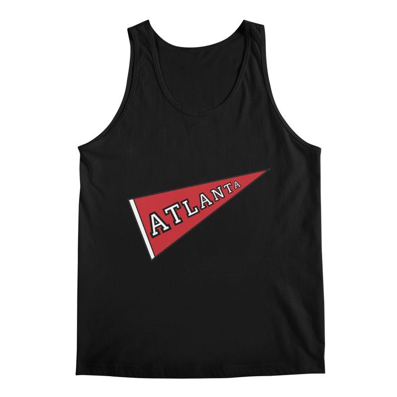 Atlanta Pennant Men's Regular Tank by ATLBrandBox's Artist Shop