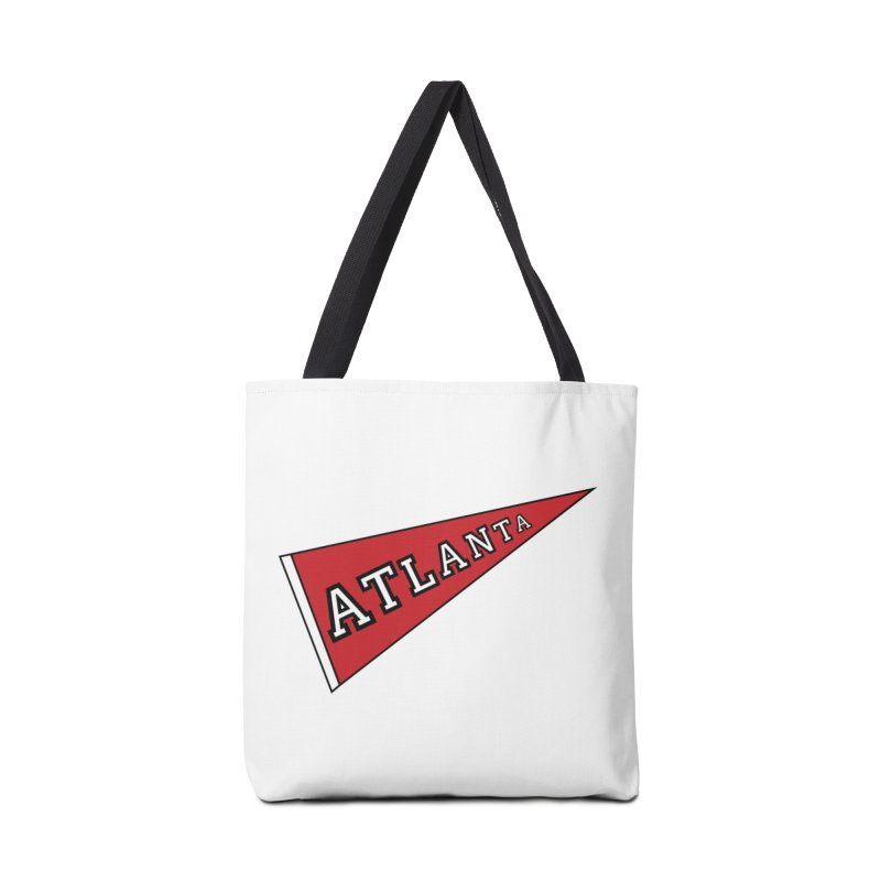 Atlanta Pennant Accessories Tote Bag Bag by ATLBrandBox's Artist Shop