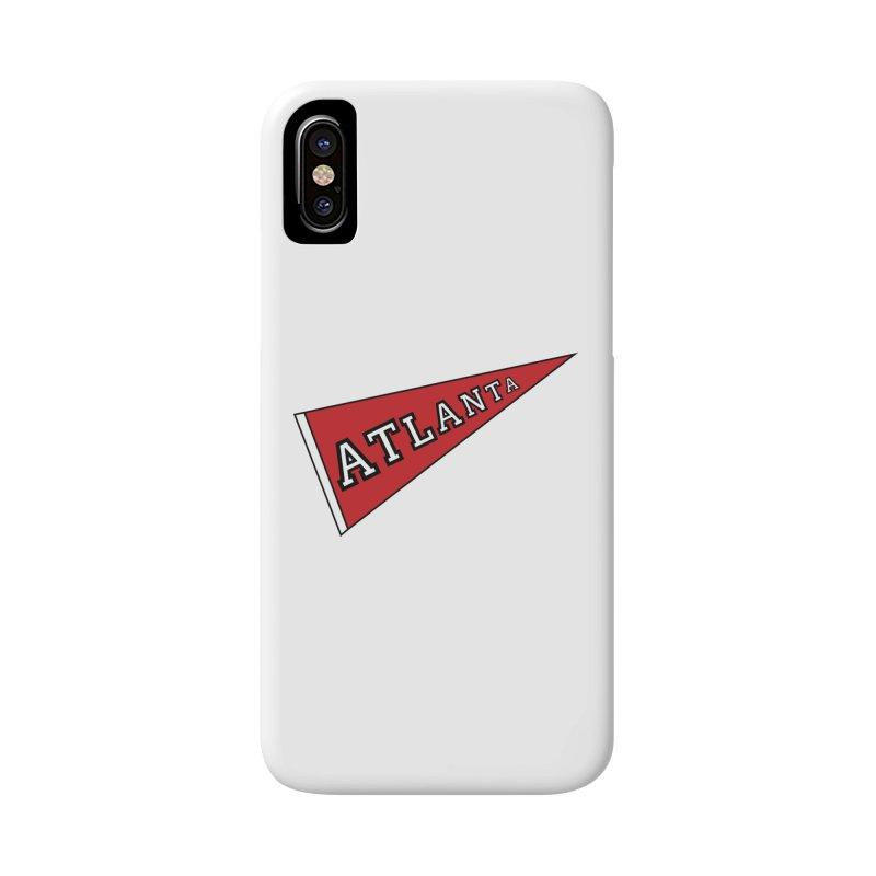 Atlanta Pennant Accessories Phone Case by ATLBrandBox's Artist Shop