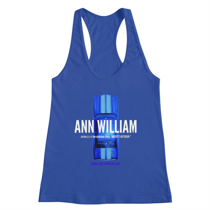 Seth's Chevelle 2 Women's Racerback Tank by The Ann William Fiction Writer(s) Artist Shop
