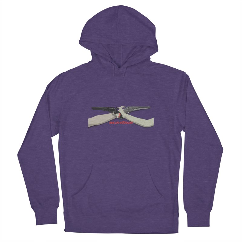 """""""Dueling Personalities"""" (No Text Version) Women's French Terry Pullover Hoody by The Ann William Fiction Writer(s) Artist Shop"""