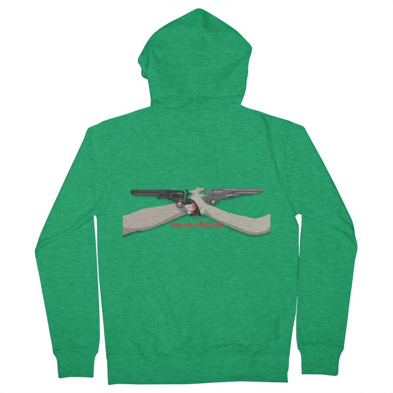 """""""Dueling Personalities"""" (No Text Version) Women's French Terry Zip-Up Hoody by The Ann William Fiction Writer(s) Artist Shop"""