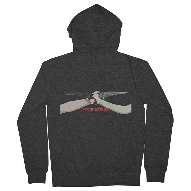 """""""Dueling Personalities"""" (No Text Version) Men's French Terry Zip-Up Hoody by The Ann William Fiction Writer(s) Artist Shop"""