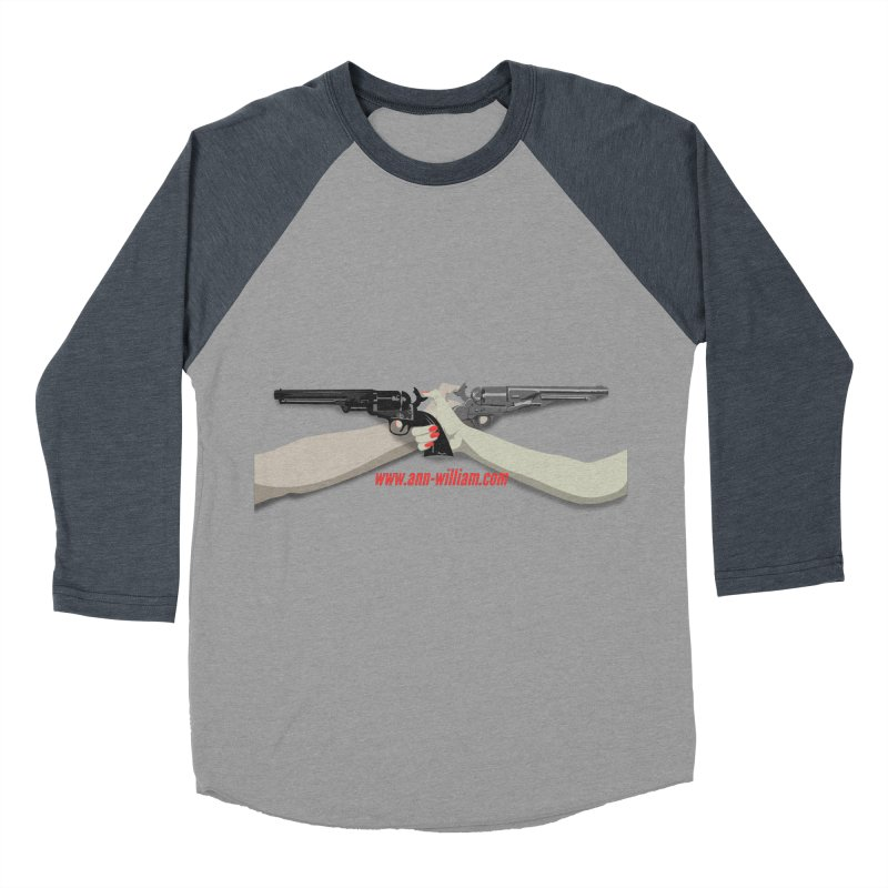 """""""Dueling Personalities"""" (No Text Version) Men's Baseball Triblend Longsleeve T-Shirt by The Ann William Fiction Writer(s) Artist Shop"""