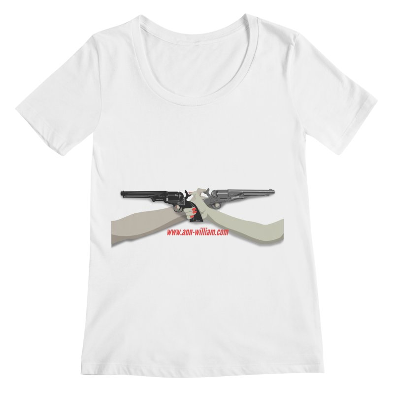 """""""Dueling Personalities"""" (No Text Version) Women's Regular Scoop Neck by The Ann William Fiction Writer(s) Artist Shop"""
