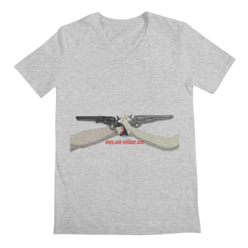 """""""Dueling Personalities"""" (No Text Version) Men's Regular V-Neck by The Ann William Fiction Writer(s) Artist Shop"""