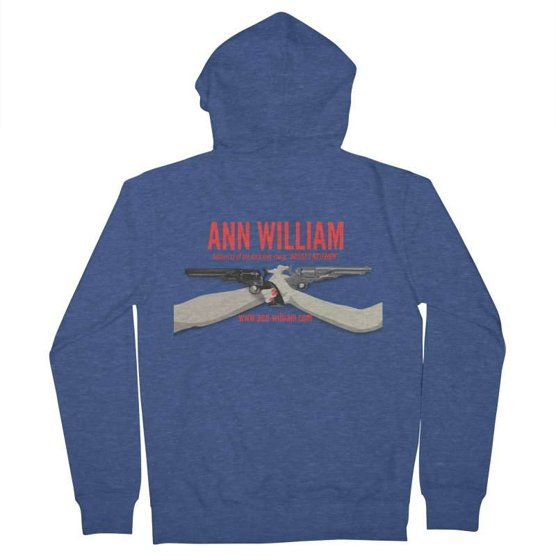 """""""Dueling Personalities"""" Women's French Terry Zip-Up Hoody by The Ann William Fiction Writer(s) Artist Shop"""