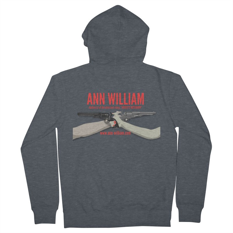 """""""Dueling Personalities"""" Men's French Terry Zip-Up Hoody by The Ann William Fiction Writer(s) Artist Shop"""