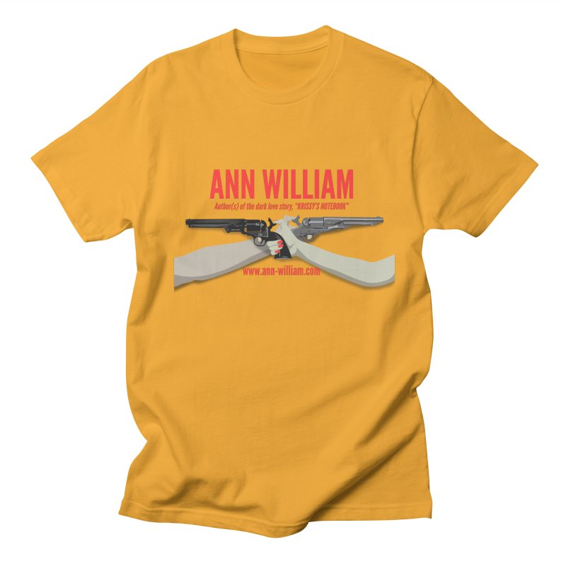 """""""Dueling Personalities"""" Men's Regular T-Shirt by The Ann William Fiction Writer(s) Artist Shop"""