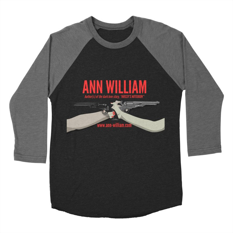 """Dueling Personalities"" Women's Baseball Triblend Longsleeve T-Shirt by The Ann William Fiction Writer(s) Artist Shop"