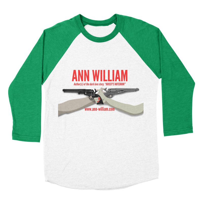 """""""Dueling Personalities"""" Men's Baseball Triblend Longsleeve T-Shirt by The Ann William Fiction Writer(s) Artist Shop"""