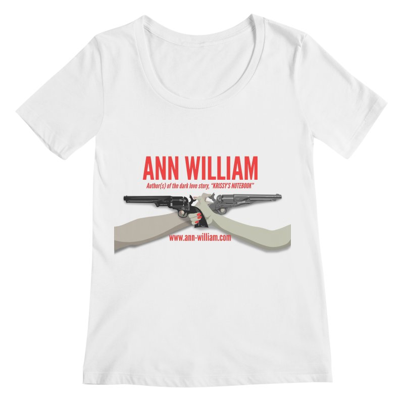 """""""Dueling Personalities"""" Women's Regular Scoop Neck by The Ann William Fiction Writer(s) Artist Shop"""