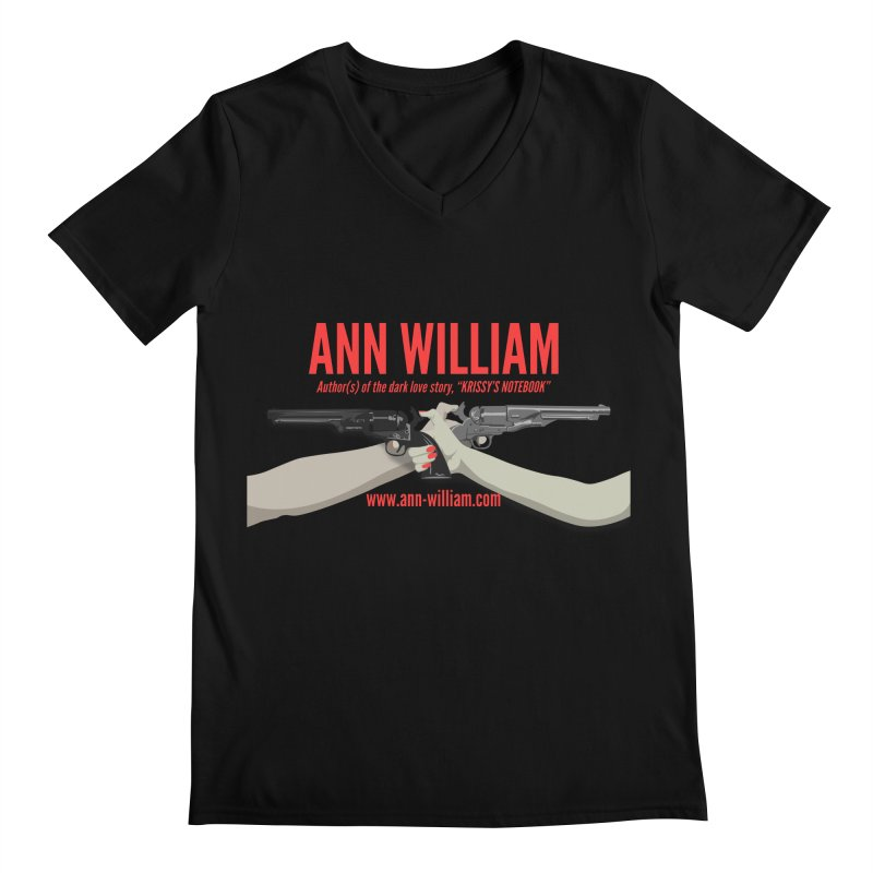 """""""Dueling Personalities"""" Men's Regular V-Neck by The Ann William Fiction Writer(s) Artist Shop"""