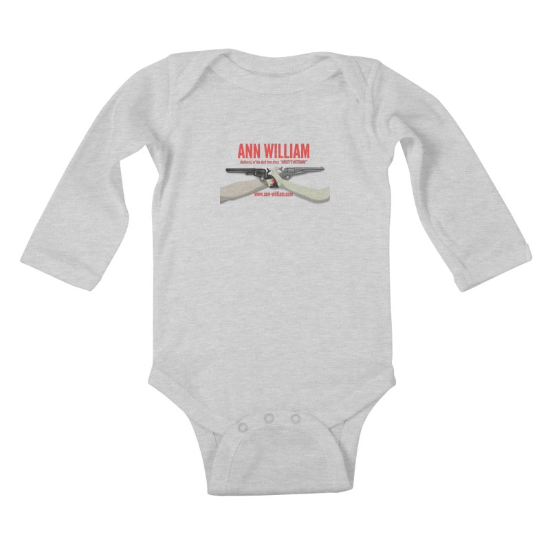 """Dueling Personalities"" Kids Baby Longsleeve Bodysuit by The Ann William Fiction Writer(s) Artist Shop"