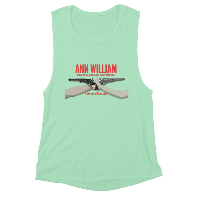 """Dueling Personalities"" Women's Muscle Tank by The Ann William Fiction Writer(s) Artist Shop"
